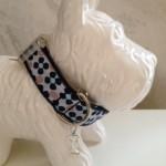 HalsbandHippieblue2,5cm